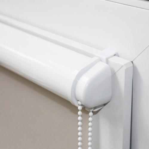 Support complet chocolat pour venitien vinyle 25mm